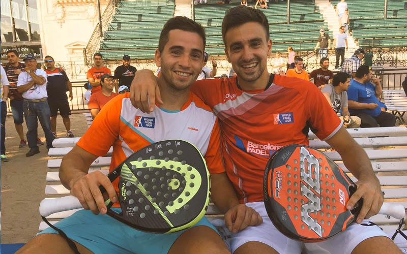 Aris Patiniotis y Cristian Germán Gutiérrez se meten por primera vez en cuartos de un Master