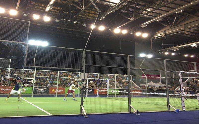 Cronica de los cuartos del Mendoza Open
