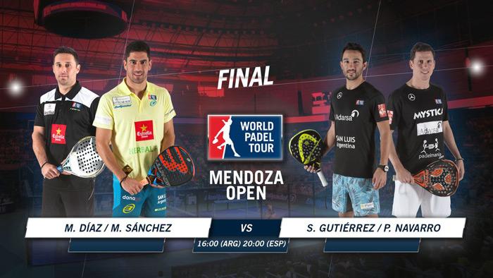 Horario de la final del Mendoza Open
