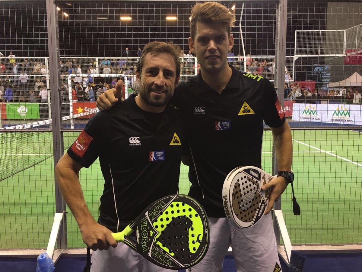 Maxi Grabiel y Ramiro Moyano ganaron su partido en los octavos del Mendoza Open