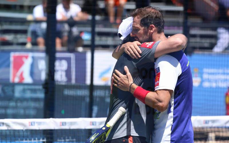 Juan Martín Díaz y Cristian Gutiérrez vuelven a recuperar sensaciones en el Master de Buenos Aires
