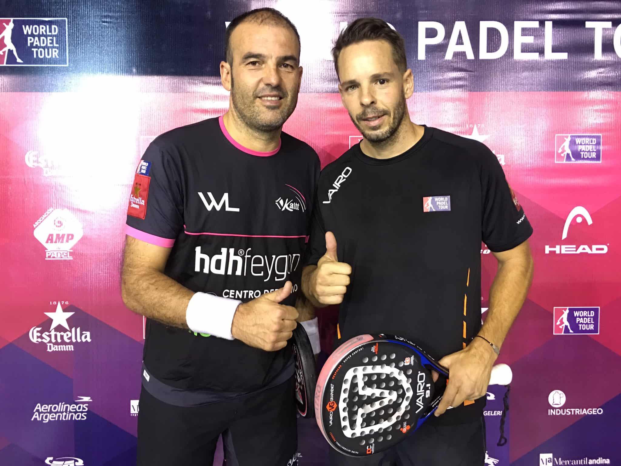 Willy Lahoz y Aday Santana se han clasificado por primera vez esta temporada en semifinales