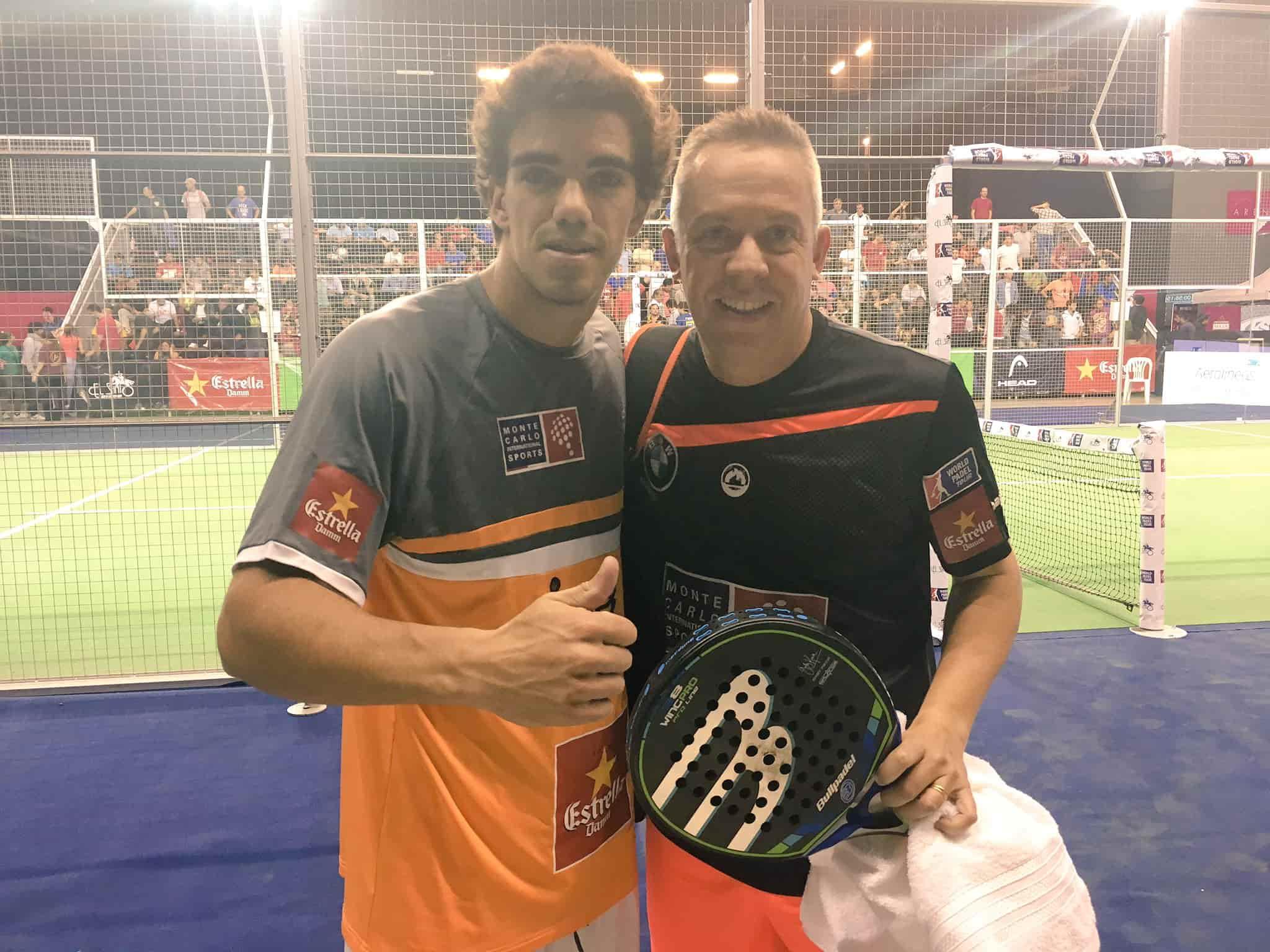 Juan Lebrón y Gaby Reca pelearán hoy por un hueco en semifinales