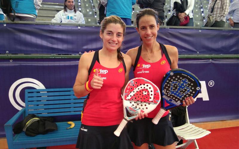 Marta Marrero y Ale Salazar se proclamaron campeonas del mundo por parejas