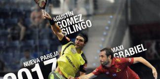 Agustín Gómez Silingo y Maxi Grabiel unirán sus fuerzas en 2017