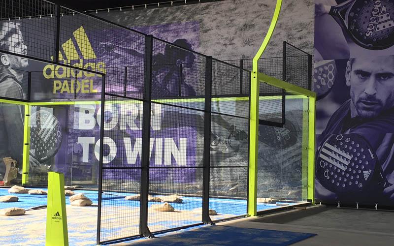 Up Indoor Pádel Badalona abre mañana sus puertas