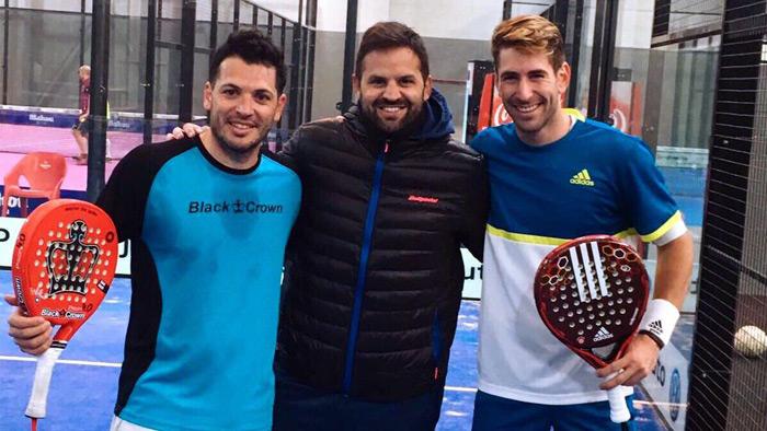 Tito Allemandi y Alex Ruíz formarán una nueva dupla para el Master Final