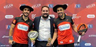 Bela - Lima y Marrero - Salazar se llevan la gloria en la jornada final del Euskadi Open