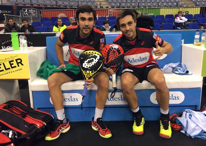 Bela y Lima tuvieron un cómodo debut en el Euskadi Open