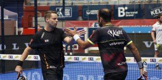 Jornada de despedidas en los octavos del Euskadi Open