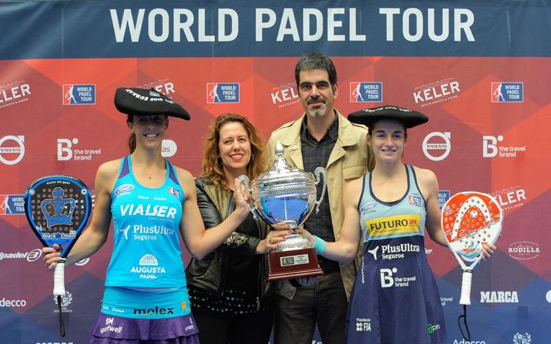 Marta Marrero y Ale Salazar consiguieron su séptimo título de la temporada