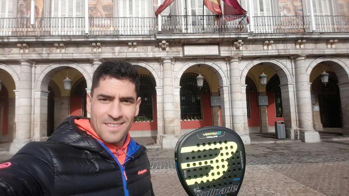 Maxi Sánchez estrenará su nueva pala en el Master Final