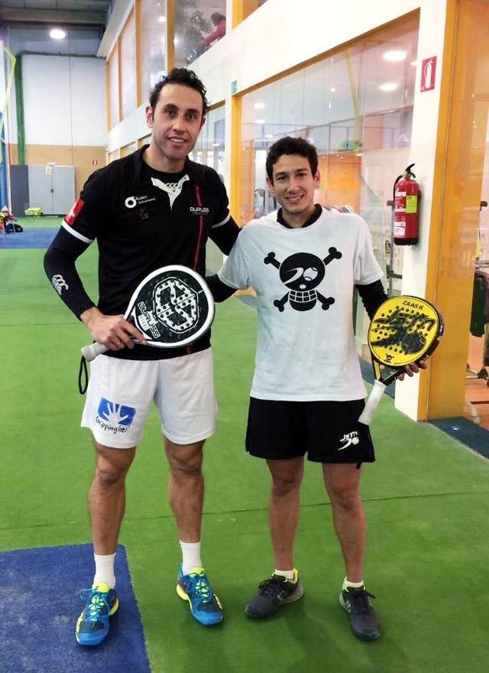 Uri Botello y Fernando Poggi confían en subir puestos en el ranking este año