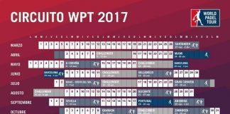 Calendario del World Padel Tour 2017