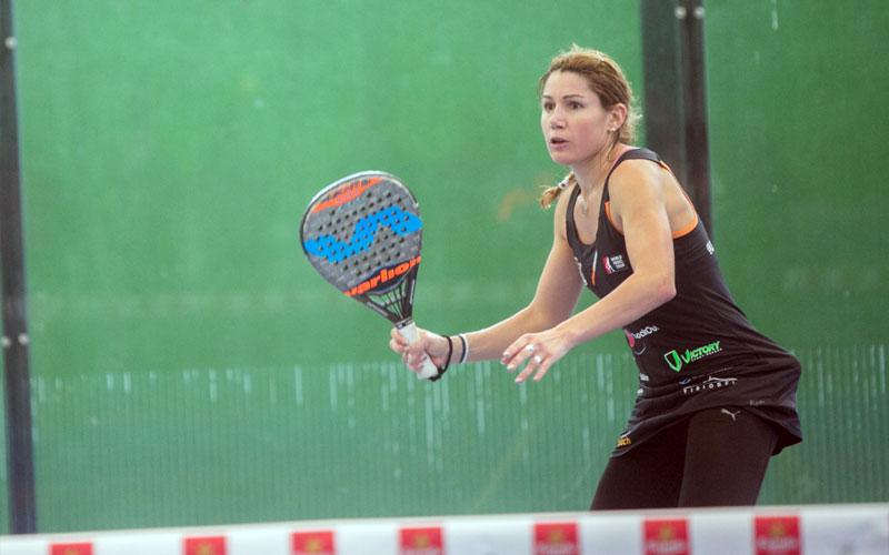 Lorena Alonso y su compañera Alicia Berl se impusieron en la primera prueba