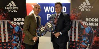 Adidas, pala oficial del circuito World Padel Tour
