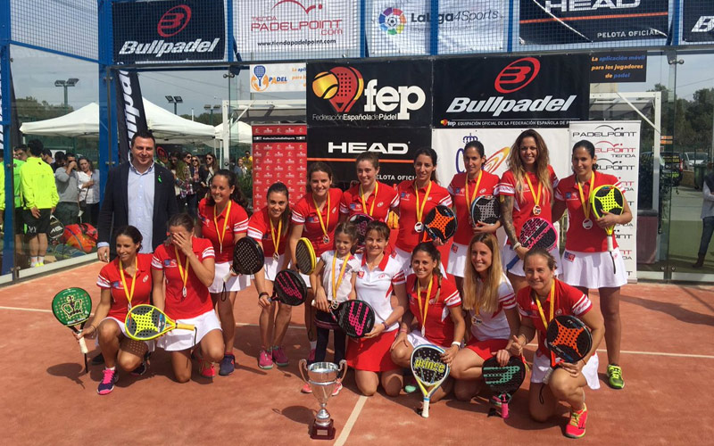 El Arena Entrena Padel MCIntersports arrolló a su rival en la final femenina