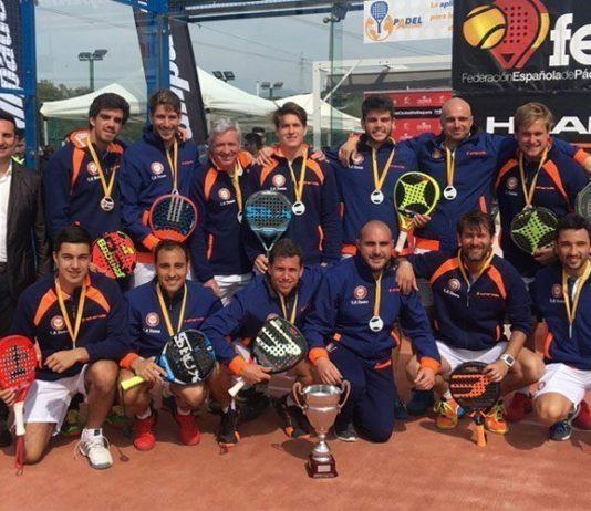 Club de Pádel Damm se alza con el Campeonato de España de Primera por Equipos