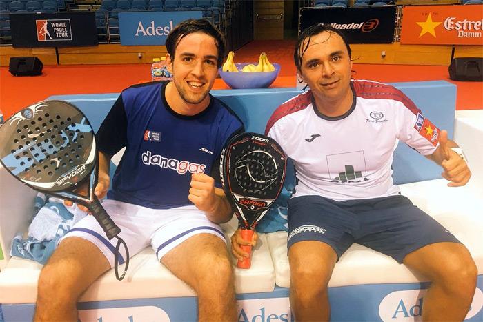 Godo Díaz y Lucho Capra pasaron con autoridad a la ronda de octavos