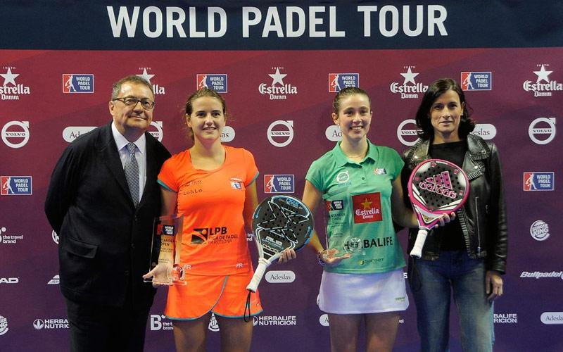 Ariana Sánchez y Martita Ortega derrotaron en dos sets a Patty Llaguno y Eli Amatriain