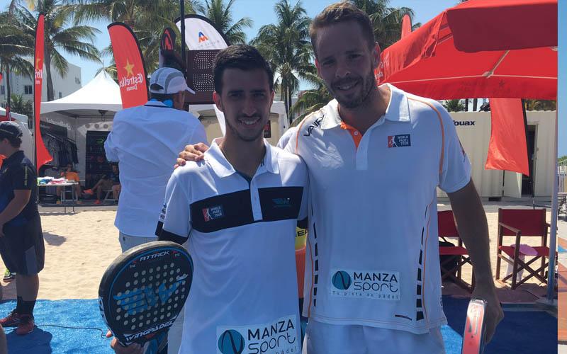 Álvaro Cepero y Aday Santana impusieron la lógica en su partido de dieciseisavos