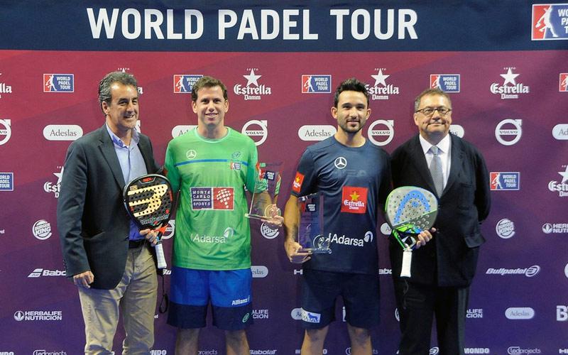 Paquito Navarro y Sanyo Gutiérrez vencieron en tres sets a los número 1