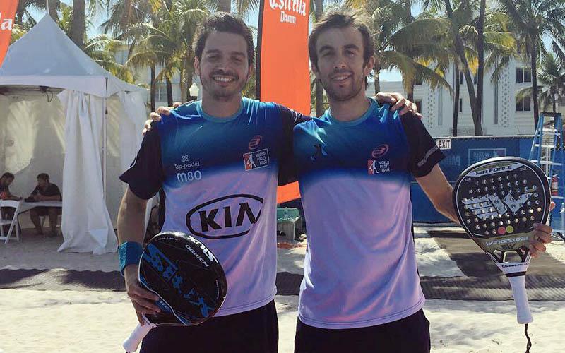 Diogo Rocha y Pincho Fernández dieron la sorpresa en dieciseisavos