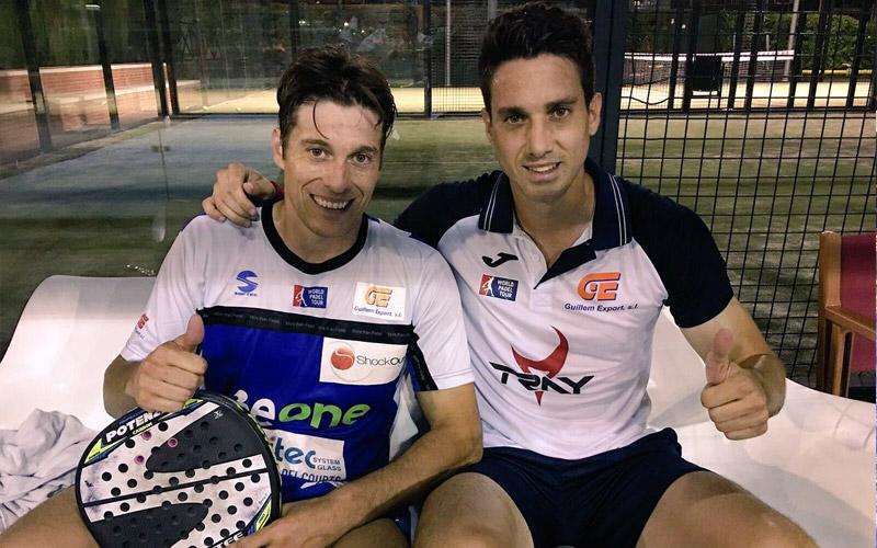 Chico Gomes y Chris Fuster accedieron a dieciseisavos del Master de Barcelona