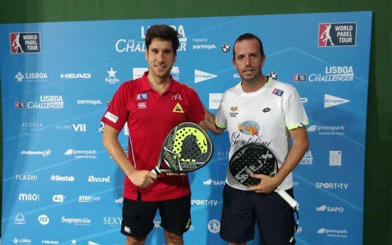 Nacho Gadea y Germán Tamame irrumpen en los octavos del Lisboa Challenger