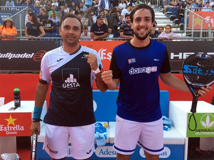 Godo Díaz y Lucho Capra debutaron con victoria en Barcelona