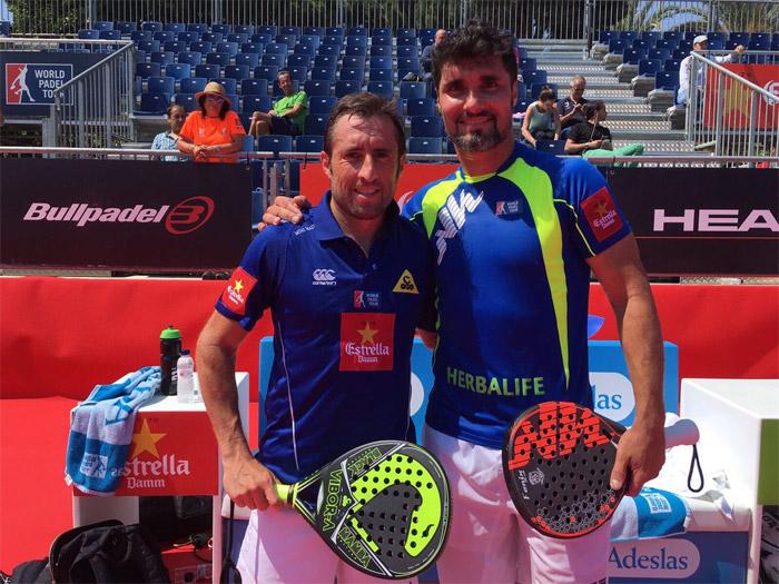 Agustín Gómez Silingo y Maxi Grabiel se clasificaron para los octavos del Master de Barcelona