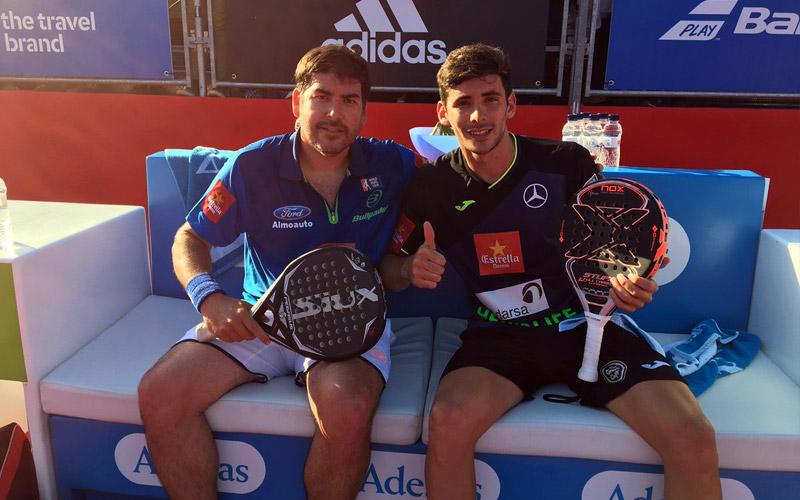 Cristian Gutiérrez y Franco Stupaczuk ganaron su partido de dieciseisavos