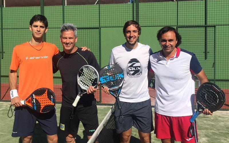 Miguel Lamperti y Matías Marina jugarán juntos en Barcelona