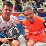 Lamperti y Moyano logran su primera victoria como pareja