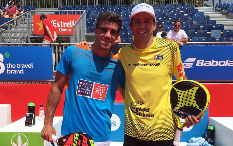 Juan Lebrón y Marcello Jardim fueron los primeros en meterse en octavos en la jornada del miércoles