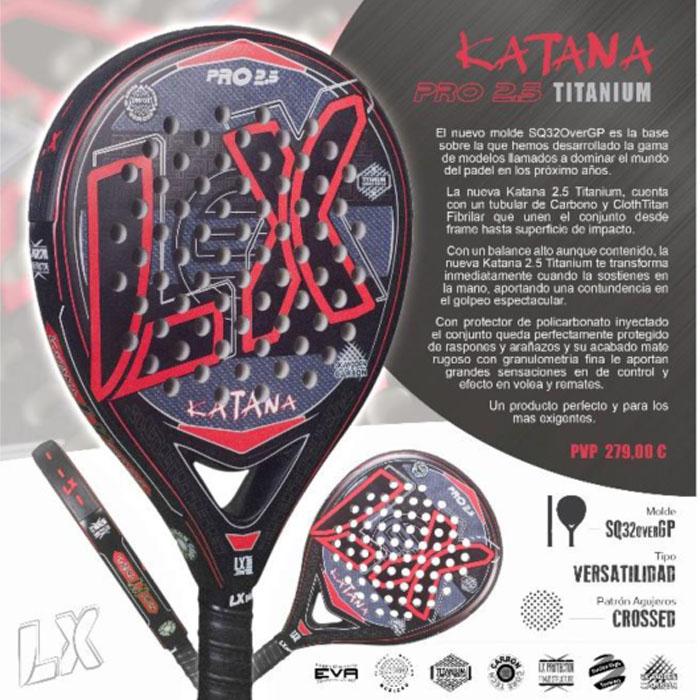 LX Katana 2.5 Titanium
