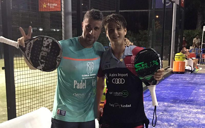 Matías Nicoletti y Salva Oria se clasifican de la previa del Estrella Damm Barcelona Master