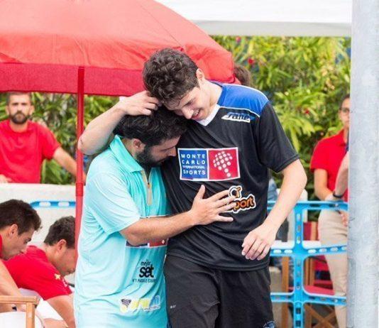 Tapia y Soliverez arrancan los elogios tras clasificarse de la previa del Estrella Damm Barcelona Master