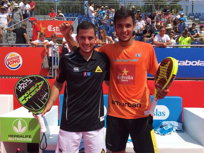 Juan Cruz Belluati y Ale Galán se meten de nuevo en unos cuartos de Master