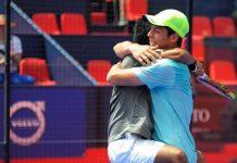 Chingotto y Tello echan por tierra el retorno de Mieres en los octavos del Valladolid Open