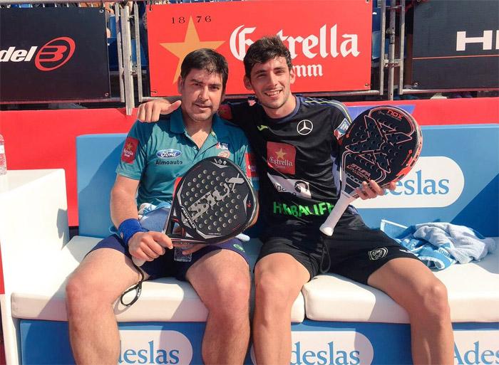 Cristian Gutiérrez y Franco Stupaczuk accedieron sin problemas a los cuartos del Master de Barcelona