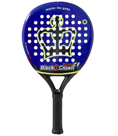 Pala de pádel Black Crown Puma Z1