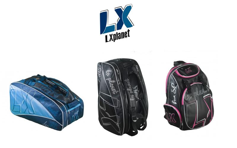 Colección de paleteros y mochilas LX Planet