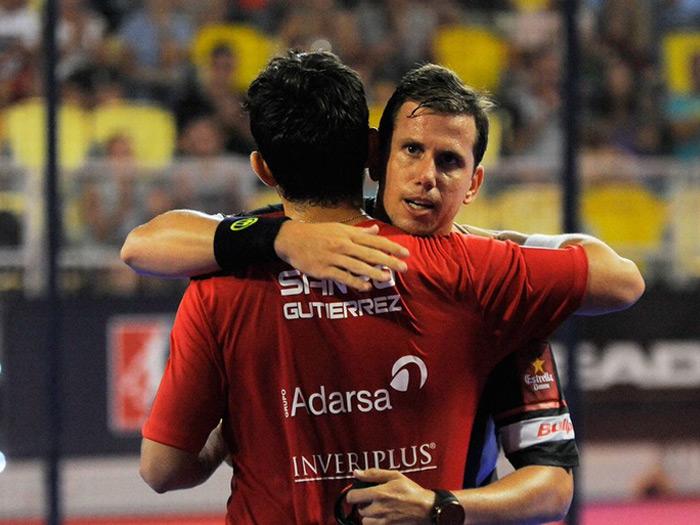 Paquito y Sanyo tuvieron que emplearse a fondo en los octavos del Gran Canaria Open