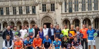 Arranca la World Padel Tour Brussels Exhibition con presencia de la lluvia