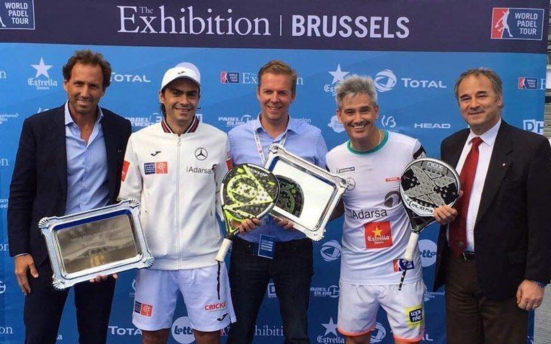 Miguel Lamperti y Juani Mieres se llevan la Brussels Exhibition