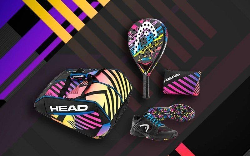 Head presenta el pack Delta Limited al más puro estilo de los 80