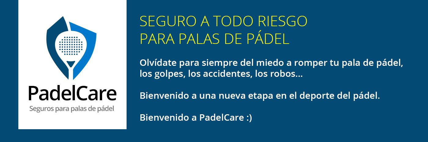 PadelCare, seguros para palas de pádel