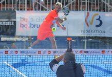 Con este truco deleitó Miguel Lamperti al público belga