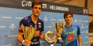 Matías Marina y Javier Concepción ganan la final del Helsingborg Challenger